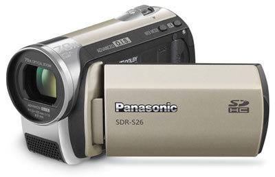 Panasonic SDR-S26 zlatá + brašna DFV 42 zdarma!
