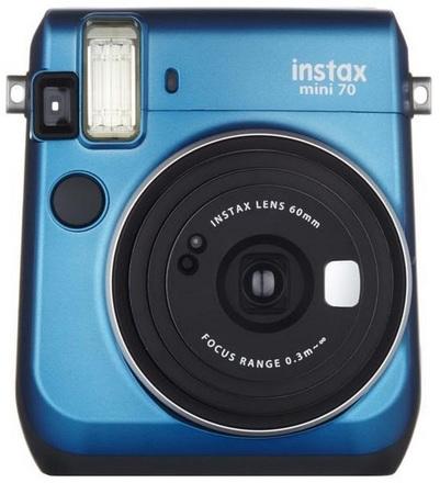 Fujifilm Instax Mini 70 instant camera modrý