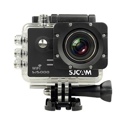 SJCAM SJ5000 WiFi černá + 16GB karta + pouzdro!