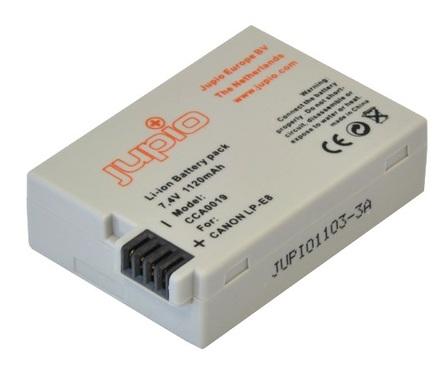 Jupio akumulátor LP-E8 pro Canon
