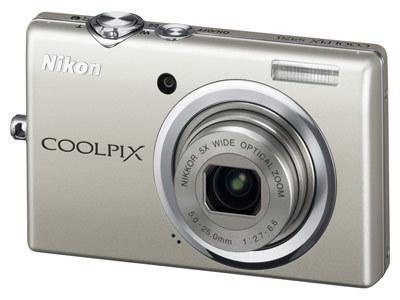 Nikon CoolPix S570 stříbrný