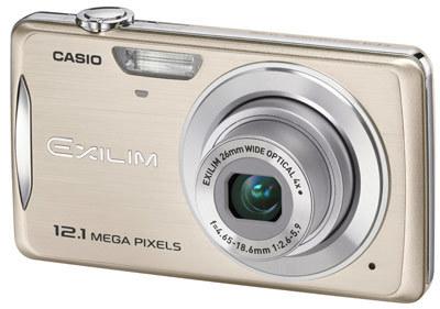 Casio EXILIM Z280 zlatý
