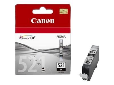 Canon Cartridge CLI-521BK