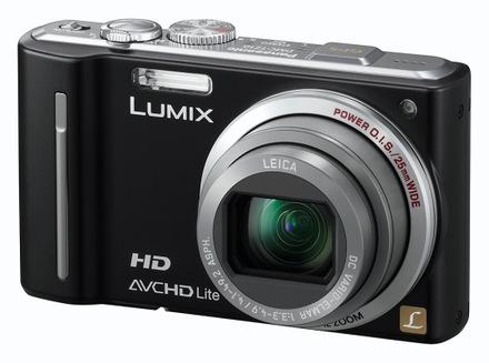 Panasonic Lumix DMC-TZ10 černý