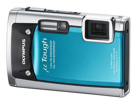 Olympus Mju TOUGH-6020 modrý