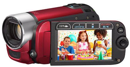 Canon LEGRIA FS306 červená