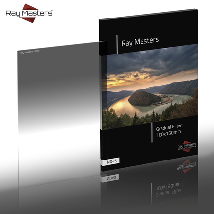 Ray Masters 100x150mm ND 4 filtr jemný