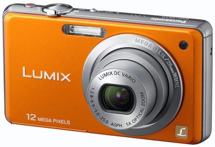 Panasonic Lumix DMC-FS10 oranžový