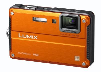 Panasonic Lumix DMC-FT2 oranžový