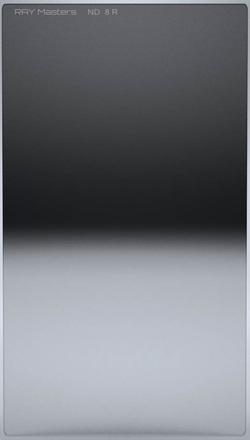 Ray Masters 84x150mm ND 8 filtr 0,9 reverzní
