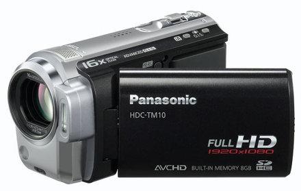 Panasonic HDC-TM10 + SD 8GB karta + brašna DFV 42 zdarma!