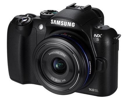 Samsung NX5 + 18-55 mm OIS + 50-200 mm OIS