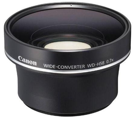 Canon širokoúhlá předsádka WD-H58