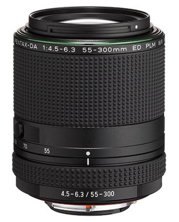 Pentax HD DA 55-300mm f/4,5-6,3 ED PLM WR RE
