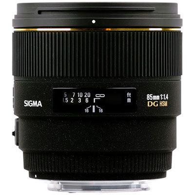 Sigma 85mm f/1,4 EX DG HSM pro Nikon