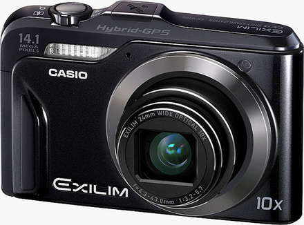 Casio EXILIM H20G černý + 8GB karta zdarma!