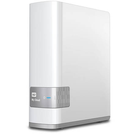 "Western Digital My Cloud 8TB, 3.5"" síťový, bílý"