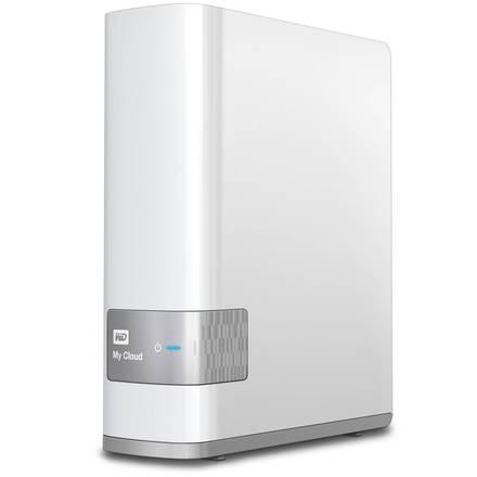 "Western Digital My Cloud 4TB, 3.5"" síťový, bílý"