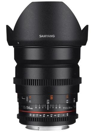 Samyang CINE 24mm T/1,5 VDSLR pro Nikon