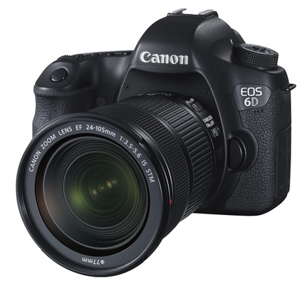 Canon EOS 6D + 24-105 mm f/3,5-5,6 IS STM