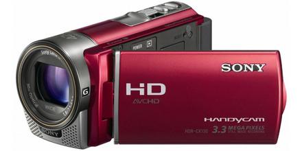 Sony HDR-CX130 červená + 8GB karta + brašna zdarma!