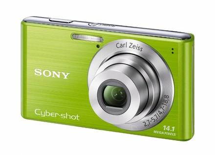 Sony CyberShot DSC-W530 zelený