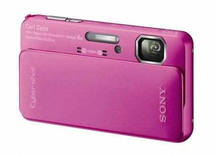 Sony CyberShot DSC-TX10 růžový