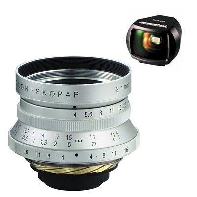 Voigtlander Color Skopar 21mm F 4.0 chrom pro M39 závit + hledáček