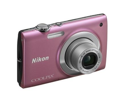 Nikon Coolpix S2500 růžový