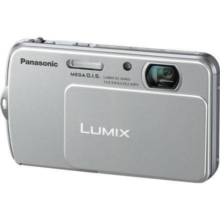 Panasonic Lumix DMC-FP5 stříbrný