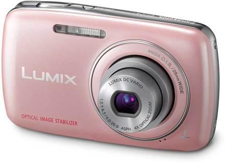 Panasonic Lumix DMC-S1 růžový