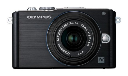 Olympus E-PL3 + 14-42 mm II R černý + 8GB karta + brašna Pack 80!