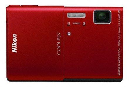 Nikon Coolpix S100 červený