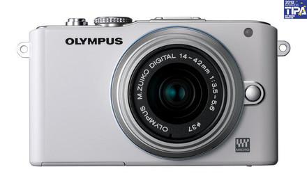 Olympus E-PL3 + 12-50 mm bílý