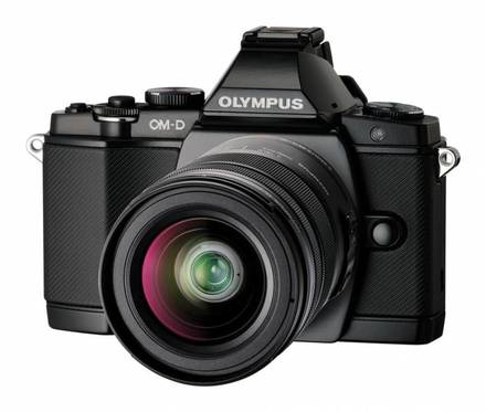 Olympus OM-D E-M5 + 12-50 mm + 45 mm černý