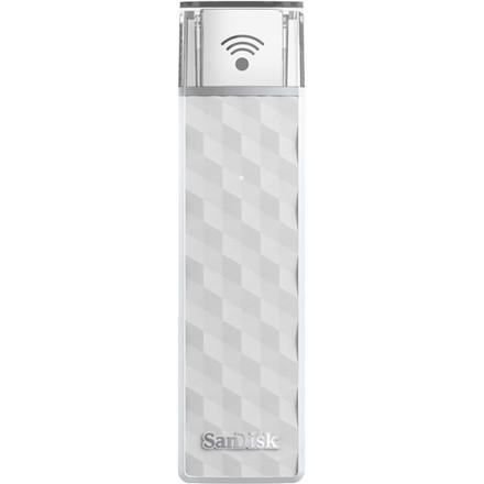 SanDisk Connect Wireless Stick 200 GB USB bílý