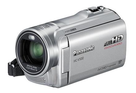 Panasonic HC-V500 stříbrná