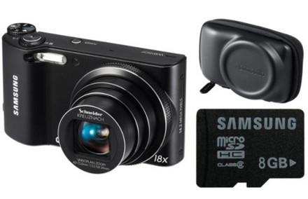 Samsung WB150F černý + 8GB karta + originální pouzdro zdarma!