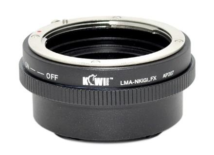 JJC adaptér z Nikon G na Fuji X