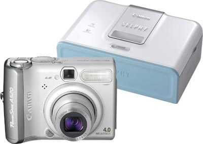 Canon PowerShot A520 + tiskárna CP-510