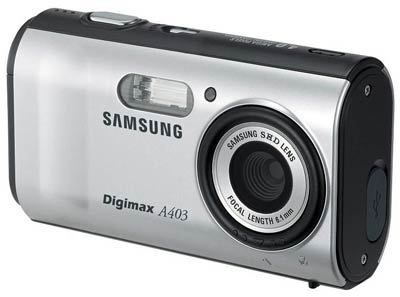 Samsung Digimax A403 stříbrný