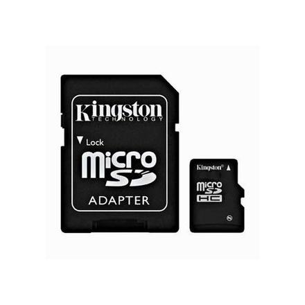 Kingston Micro SD (SDHC Class 4) 4GB karta + adaptér SD