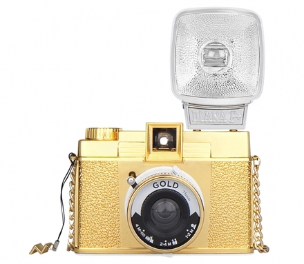 Lomography Diana F+ & Flash - Gold