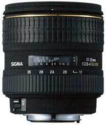 Sigma 17-35 mm F 2,8-4,0 EX DG Aspherical HSM pro Canon