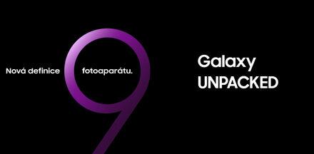 Velké uvedení Samsung Galaxy S9 už tuto neděli v 18:00!