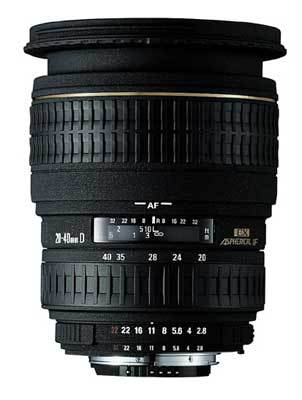 Sigma 20-40 mm F 2,8 EX DG ASPHERICAL IF pro Sony