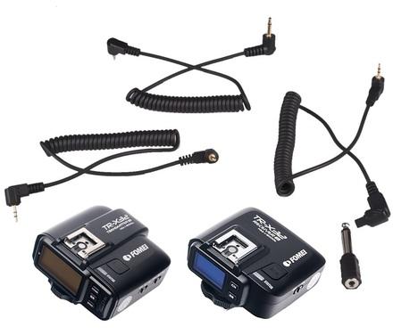 Fomei TR-X32 set odpalovače a přijímače blesků TTL pro Sony