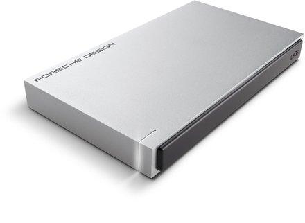 """LaCie Porsche Design Mobile 2TB HDD, 2.5""""USB 3.0 (USB-C), hliníkový, šedý"""