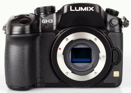 Panasonic Lumix DMC-GH3 tělo