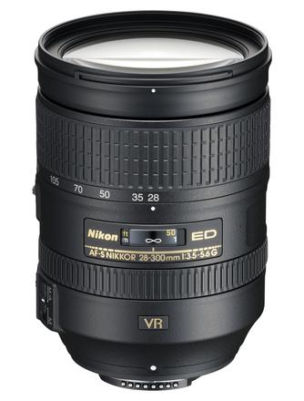 Nikon 28-300mm f/3,5-5,6 AF-S G ED VR